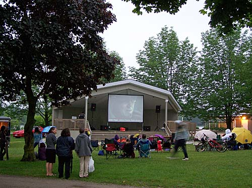 Movies in the Park, (Prospect Park)